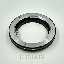 Olympus OM Mount to Four Thirds 4/3 43 Lens adapter ring Repl. MF-1;E-1 E-420