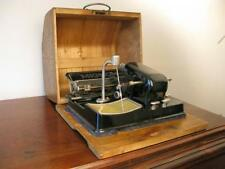 Antique Vintage cased WW2 Berlin Germany 1931 Mignon Model 4 Portable Typewriter