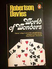 Robertson Davies World Of Wonders Paperback Novel Book Fiction Illusionist Magic