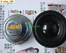 """2pcs 2"""" inch 8Ohm 14W Neodymium Full-range speakers Loudspeaker Bluetooth audio"""