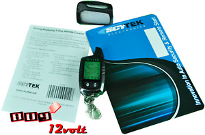 Scytek T5-2W 5-Button 2-Way LCD Remote for Select Astra & Galaxy + LEATHER CASE