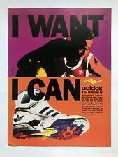 Adidas Torsion Sneakers Vintage 1989 Print Ad