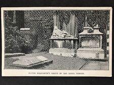 RP Vintage Postcard - London #OTA2 - Oliver Goldsmiths Grave In The Inner Temple