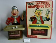 (Lot #1391) Vintage Cragstan Japan Battery Operated Toy Crapshooter with Box