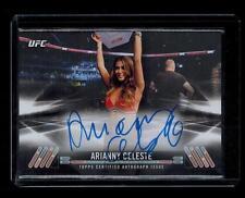 2017 Arianny Celeste Topps UFC Knockout Autograph KA-AC 47/75  Octagon Girl Play