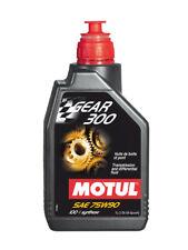 Motul Aceite Transmisión Engranaje 300 75W90 Coche Moto API GL-4/GL-5 1 Litro