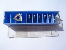 7 Hertel carbide inserts WOGX050304  grade GX (P40) ( WOGX 050304 05 03 04