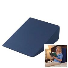 Drive Memory Foam Bed Wedge Pillow Acid Reflux Back Neck Support Cushion GERD