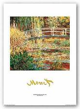 MUSEUM ART PRINT The Water Lily Pond Metallic Title Claude Monet