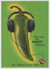DORITOS Jalapeno Cheddar  Flavor Tortilla Chips Tower Records Postcard 2000
