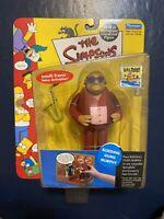 Playmates 2001 Simpsons BLEEDING GUMS MURPHY World of Springfield Interactive