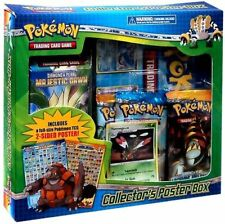 Pokemon Diamond and Pearl Collectors Poster Box TCG 3 Booster Packs & Theme Deck
