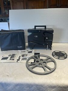 Elmo model 16-CL 16mm Optical sound film projector w/ Cover See Description