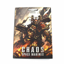 CHAOS SPACE MARINE Codex Warhammer 40K hardcover
