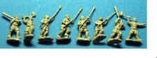 50 New Old Glory 15mm Unpainted Saracen MEDIEVAL Stock #SC21 Muslim Peasants