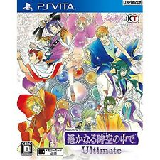 Harukanaru Toki no Naka de Ultimate PS Vita SONY Playstation JAPANESE VERSION