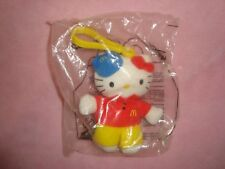 2001 McDonalds Sanrio Hello Kitty plush backpack clip NIP