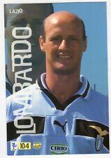 Figurina MUNDI MC CARDS numero 104 LAZIO LOMBARDO