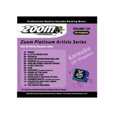Zoom Karaoke ZPA129 Platinum Artists Olivia Newton-John