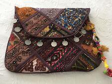Vintage Boho Clutch Bag Hippie Style Indian Banjara Gypsy Shoulder Crossbody