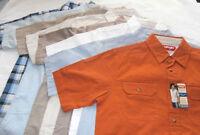 Men Boys Wrangler Shirt - You Choose - Double Pocket Woven Camp Shirt & Utility