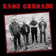 LAST CRUSADE s/t LP - new WHITE Vinyl - Oi! Punk Longshot Rebellion Last Resort