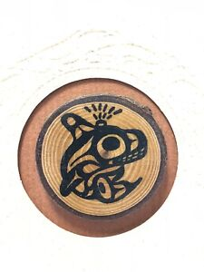 Pacific Northwest Bill Helin Orca Wood Pin