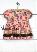 Matilda Jane Girls Size 4 Bon Vivant Paris Eiffel Tower Peasant Top NEW