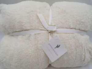 Pottery Barn Kids Sherpa Anywhere Chair Oversized Slipcover ONLY Cream #9975