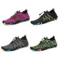 Men's Womens Aqua Water Shoes Quick-Dry Swim Socks Sports Beach Sneaker VICT