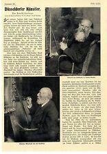 Arnold Fortlage Düsseldorfer Künstler Eduard von Gebhardt Andreas Achenbach 1907
