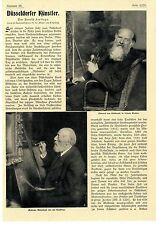 Arnold Fort situazione Düsseldorfer artisti di Eduard Gebhardt Andreas Achenbach 1907