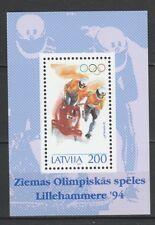 Latvia 1994 Olympic Games - Lillehammer MNH Block