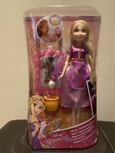 Disney Princess Rapunzel's Water Reveal Canvas & doll - BRAND NEW