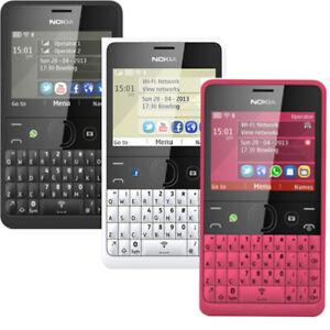 Nokia Asha 210 2G 32MB Téléphone Portable Pack Téléphone Débloqué Ou Ensemble