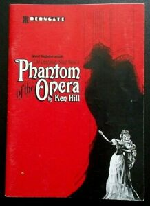 Ken Hill's Phantom Of The Opera programme Northampton Derngate Theatre 1991