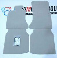 Bmw Floor mats VELOURS set OYSTER NEW 7' 7er F02 F03 F0 451479172812 9172812