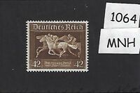 MNH Postage stamp / 1936 Brown Derby Horse race / Germany / Third Reich era