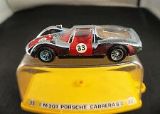 Auto Pilen M303 Porsche Carrera 6 neuf inbox / en boite 1/43 MIB