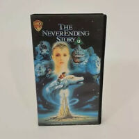 VHS Video Cassette Tape The Never Ending Story 80's Classic Movie