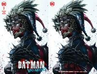 Batman Who Laughs 7 Francesco Mattina Harley Quinn Set Variant Dark Nights Metal