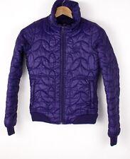 Adidas Mujer Impermeable Chaqueta Acolchada Abrigo Talla 34 ASZ1061