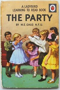 Vintage Ladybird Book – The Party – Learning to Read Series 563 – Near to Good
