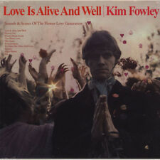 Kim Fowley ‎– Love Is Alive And Well Vinyl LP Klimt Records 2012 NEW/SEALED