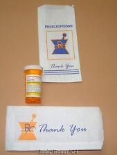 Luke Chueh Prisoner Vicodin Resin Figure Pharmacy Prescription Bag Art Dcon