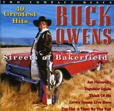 Buck Owens - 40 Greatest Hits-Streets Of Bakersfield [CD New]