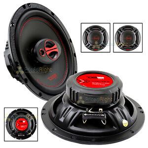 """DS18 6.5"""" 150 Watts Max Power 3 Way Coaxial Speaker 4 Ohm GEN-X6.5 Set of 2"""