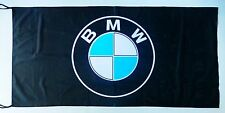 BMW FLAG BLACK - SIZE 150x75cm (5x2.5 ft) - BRAND NEW
