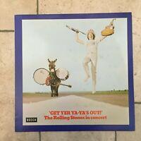 The Rolling Stones_Get Yer Ya-Ya's Out! _ Vinile LP 33 giri _ 1970 Decca Germany
