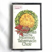 The Mormon Tabernacle Choir Merry Christmas Carols Cassette Tape Holiday Music